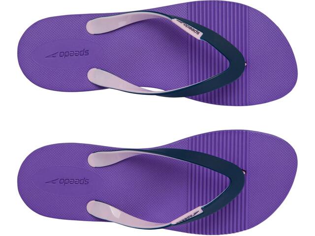 speedo Saturate II Thg Claquettes Femme, purple/navy/powder blush